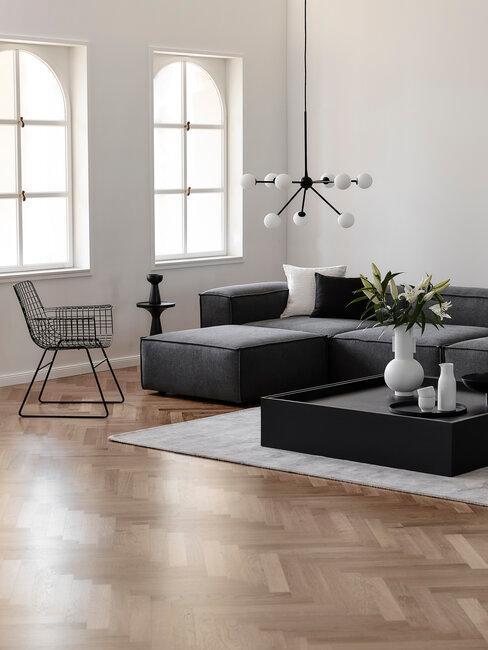 Moderný dizajn obývačky - dizajnový nábytok