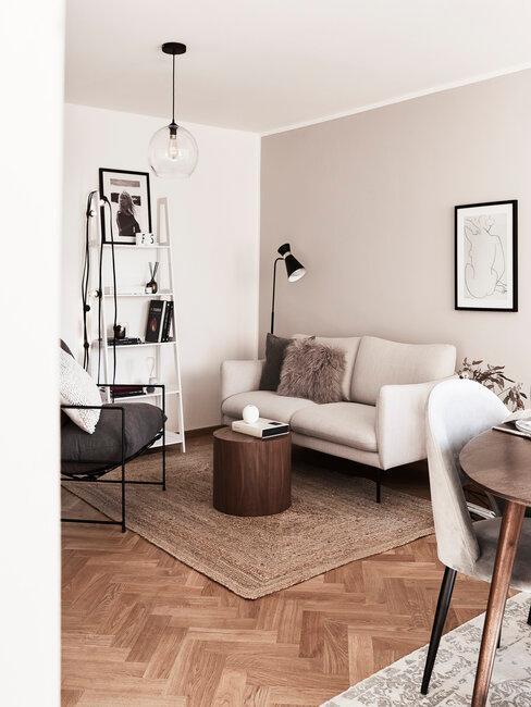 Stropný luster do obývačky do menších priestorov