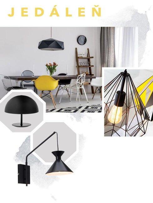 Osvetlenie interiéru - jedáleň