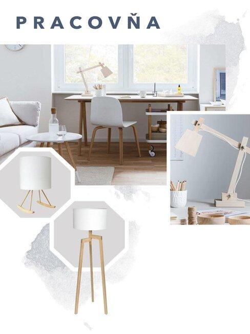 Osvetlenie interiéru - Pracovňa