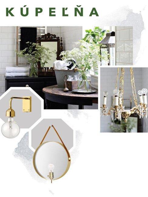 Osvetlenie interiéru - Kúpeľňa