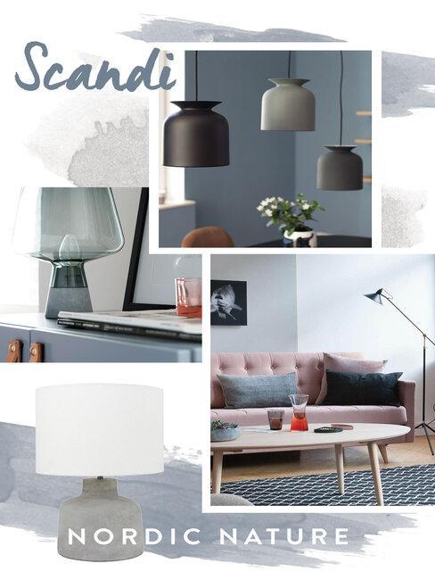 Osvetlenie interiéru - Scandi