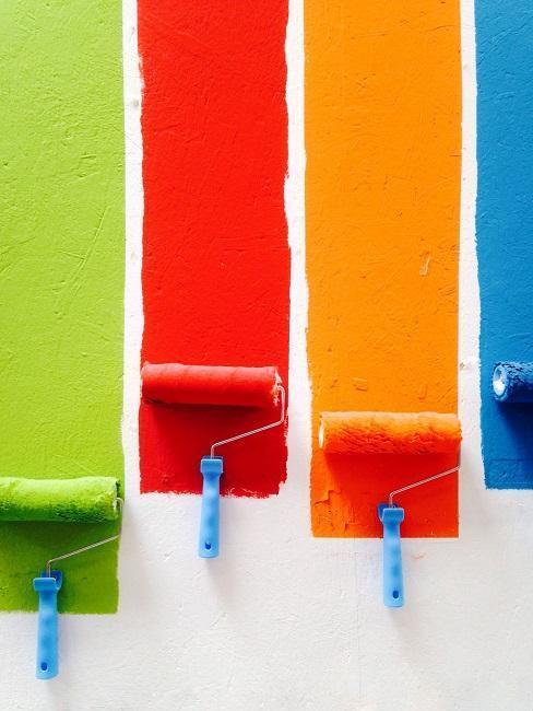 Kreatívne spôsoby ako vymaľovať detskú izbu