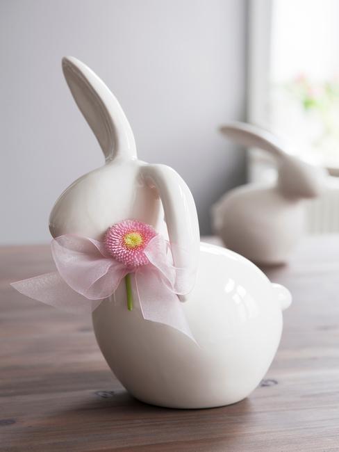 porcelánový zajačik