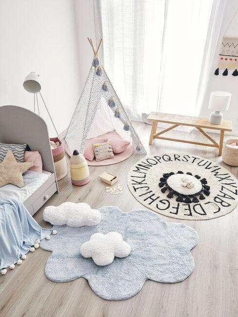 Detský kútik v byte - ako ho zariadiť bezpečne a štýlovo
