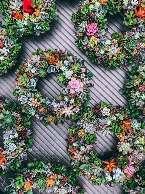 Jarné kvetinové vence