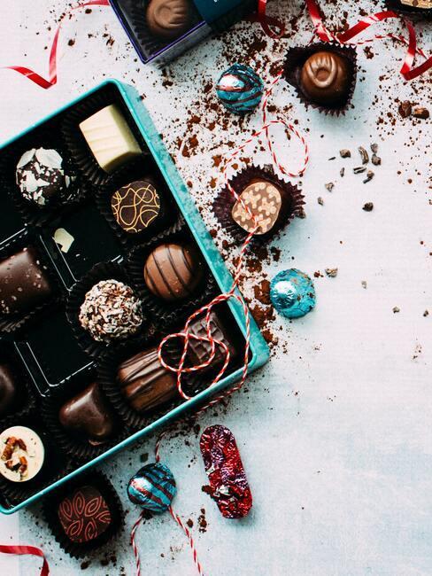 Čokoládová bonboniéra