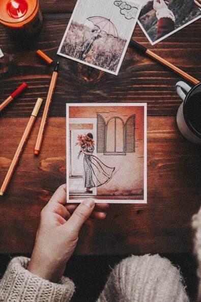 Handmade kresba z blogu Tvoriť a ľúbiť