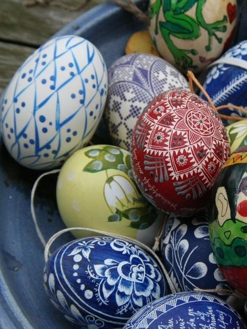 Nápady na maľovanie veľkonočných vajíčok