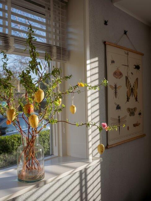 Veľkonočná výzdoba na okná