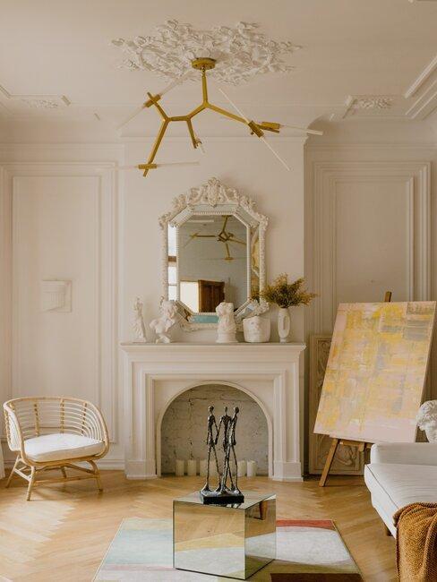 interiér v štýle glamour