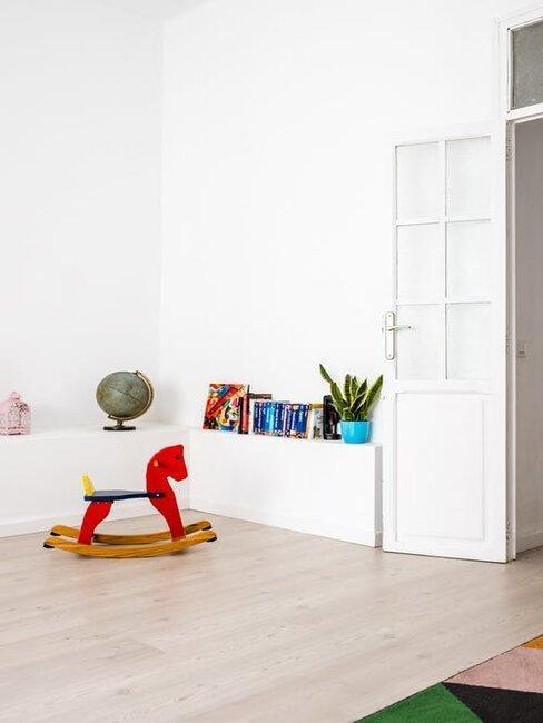 minimalistická detská izba