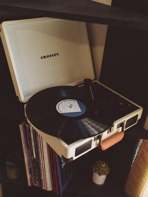 Platňa a gramofón