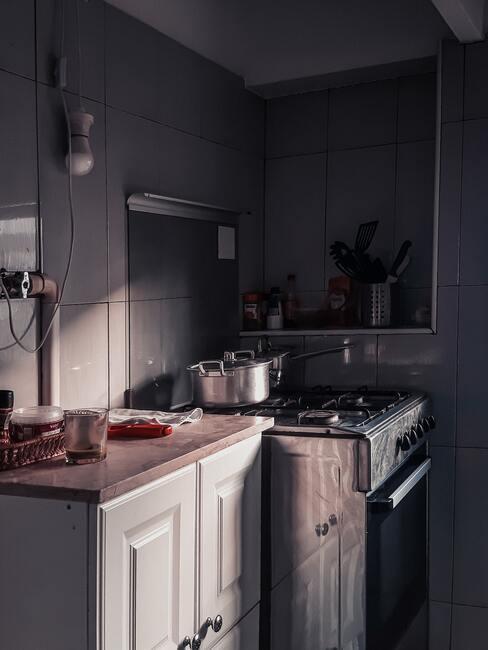 Potrebná rekonštrukcia kuchyne
