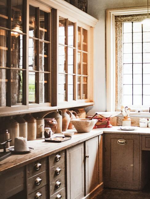 Kuchyňa vo vidieckom štýle