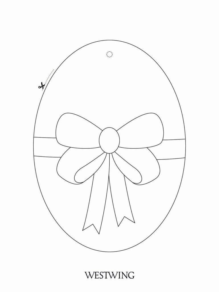 Veľkonočné tvorenie s deťmi: vajíčko s mašličkou