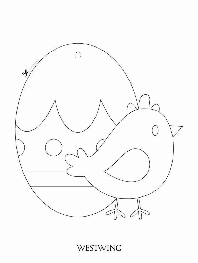 Veľkonočné tvorenie s deťmi: vajíčko a kuriatko
