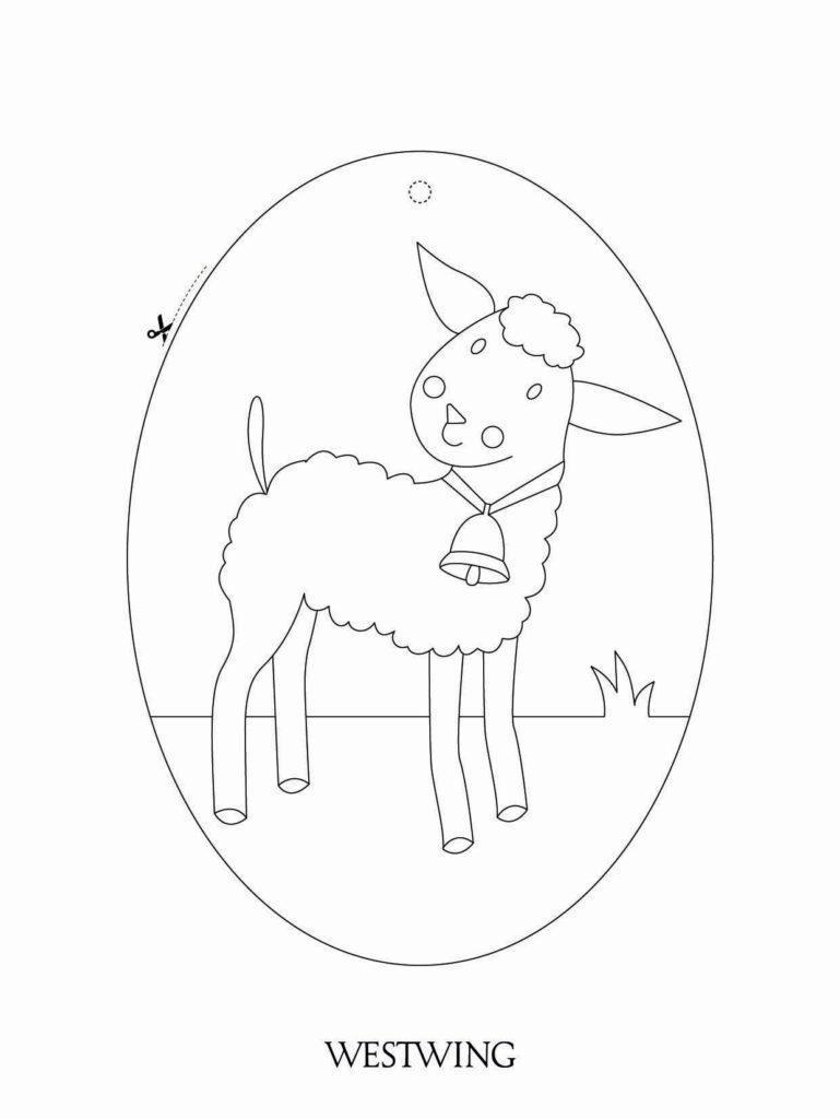Veľkonočné tvorenie s deťmi: ovečka
