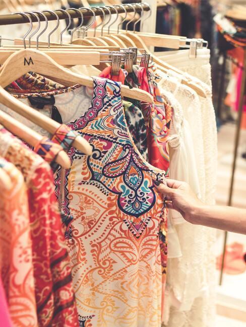 Bazár s oblečením