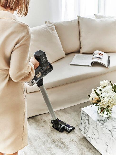 Upratovanie domácnosti - vysávanie