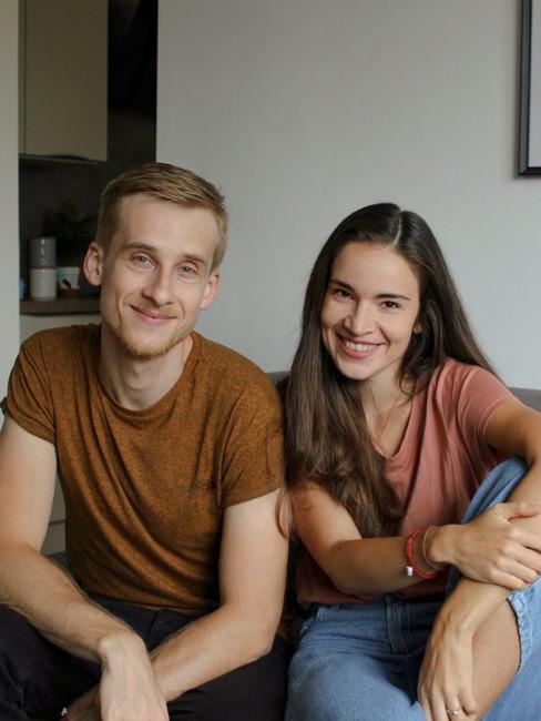 Autori blogu Pekne bývať Lucka a Tomáš
