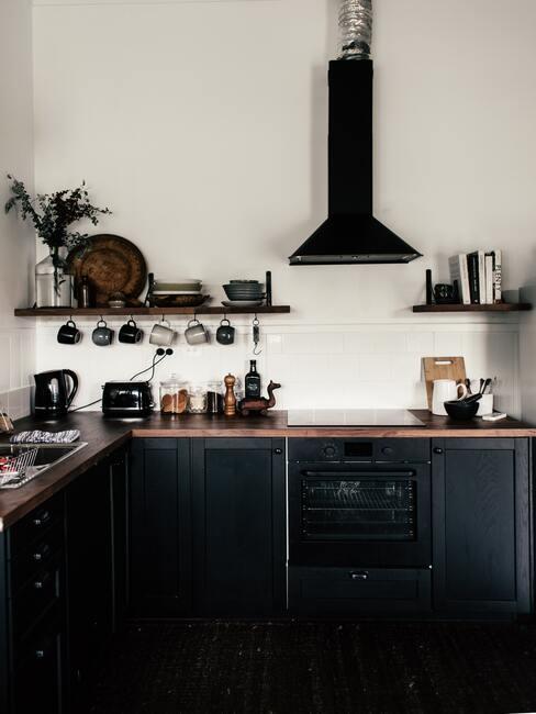 Rustikálny štýl kuchyne