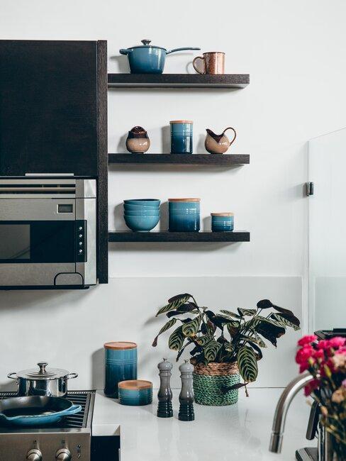 Usporiadaná kuchyňa
