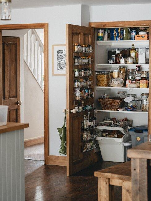 Uzatvarátelné nádoby v kuchyni