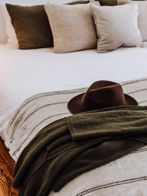 upravená posteľ
