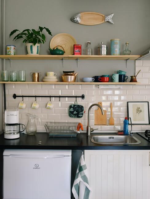 Čistá kuchynská doska