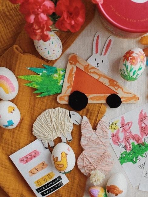 Ručne tvorené dekorácie na Veľkú noc