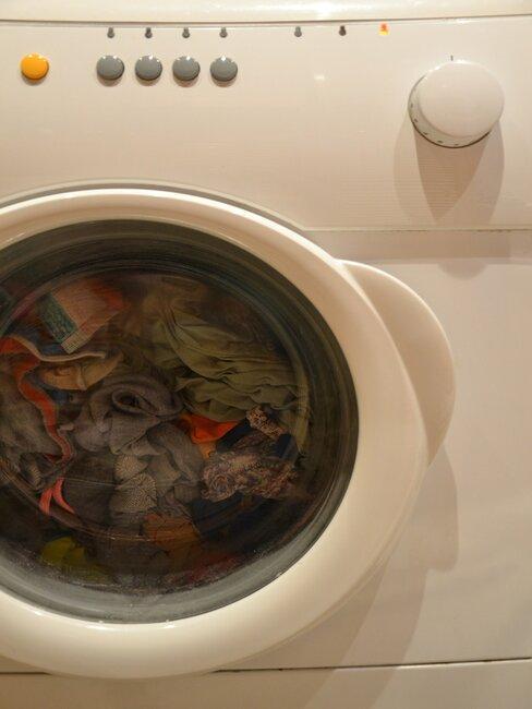 oblečenie v práčke