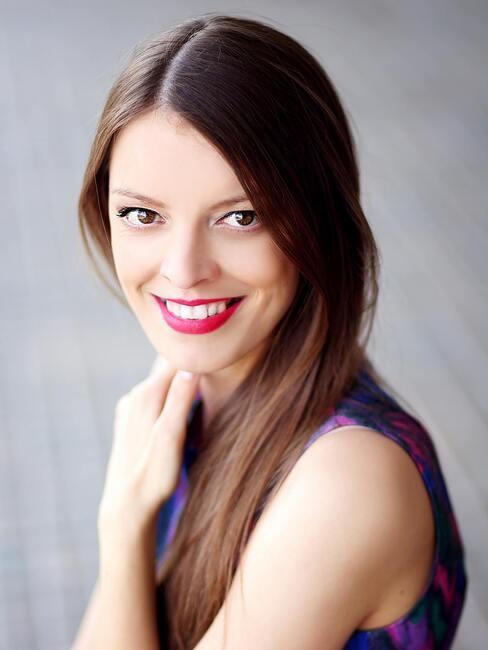 Portrét Ivanky, autorky blogu Mademoiselle Iva