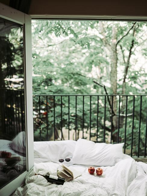 odpočinok na balkóne