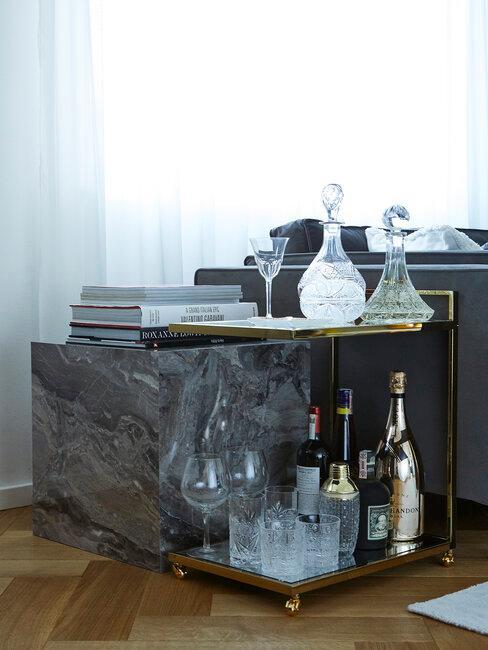 Barový stolík u Lukáša Kimličku