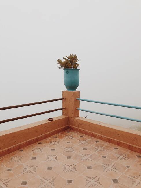 Nová dlažba na balkón v marockom štýle