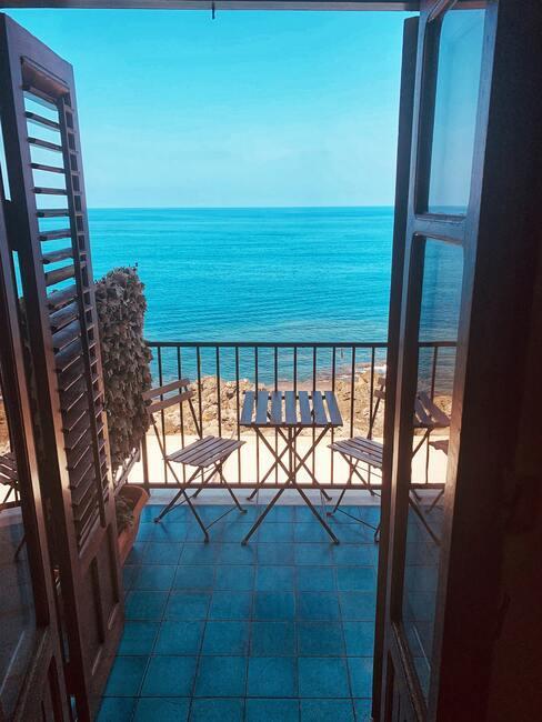Balkón s výhľadom