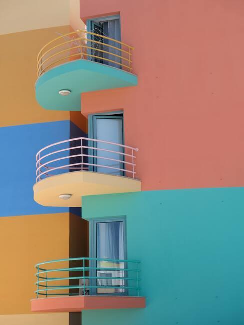 Zrekonštruovaný balkón