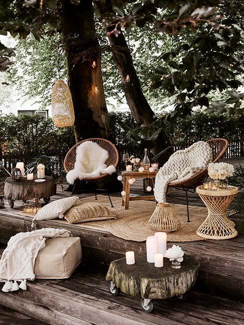 sedací nábytok na záhrade