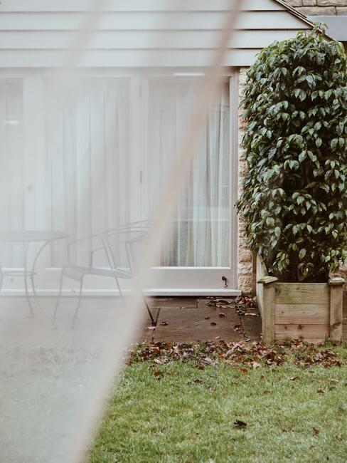 Záhradné terasy: prechod do záhrady