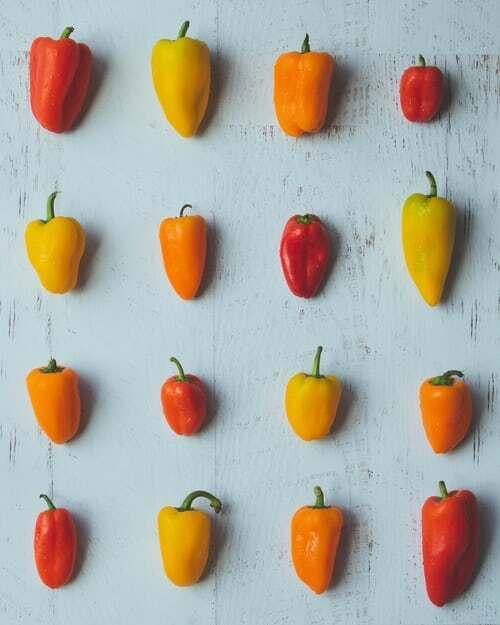 rôzne papriky