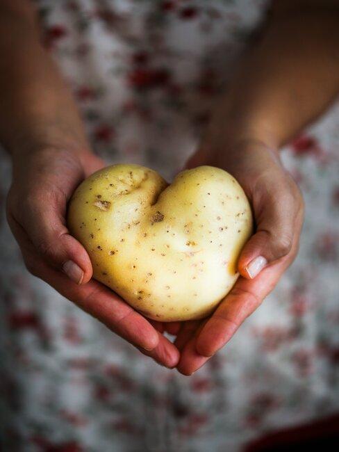 Zemiak v tvare srdca