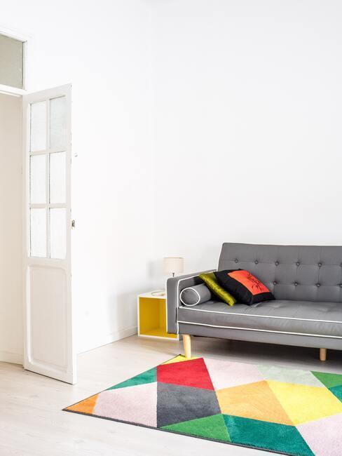 Základné farby: obývacia izba