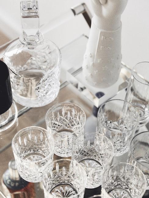 Súprava pohárov na whisky