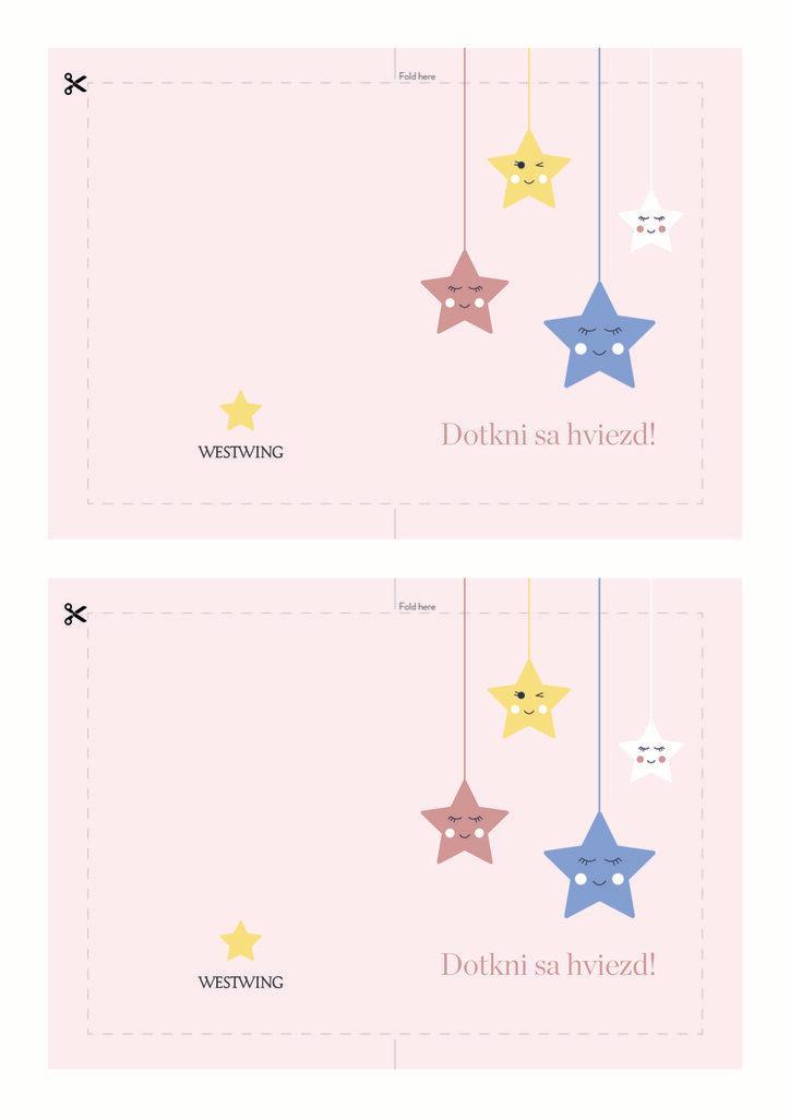 Farebná pohľadnica: dotkni sa hviezd