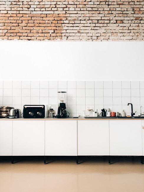 Biela kuchynská linka