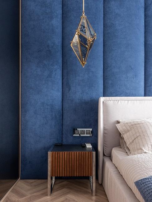 Modorzlatý interiér