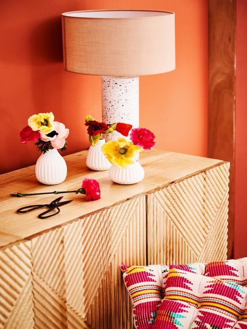 Teplé farby v interiéri