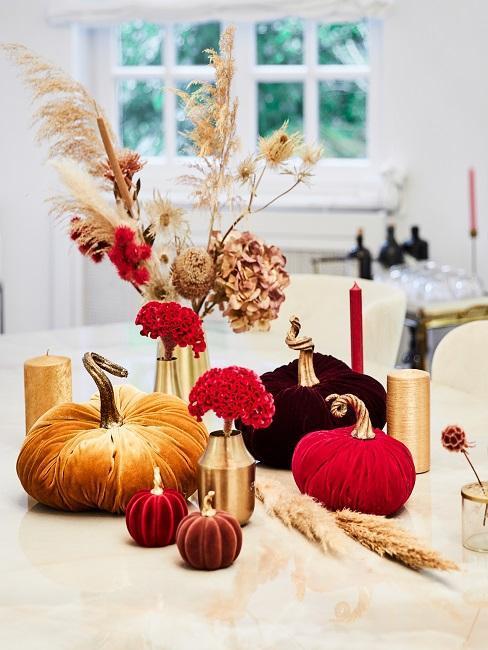 Farby jesene: interiér a dekorácia v jesenných farbách