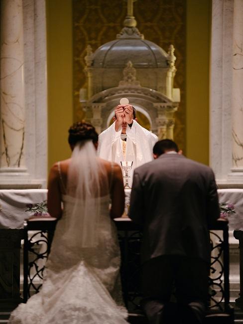 Svatba v kostole